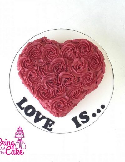 Love is cake