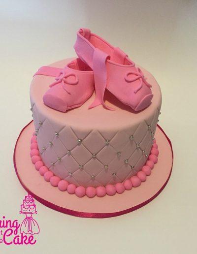 Ballerinashoescake