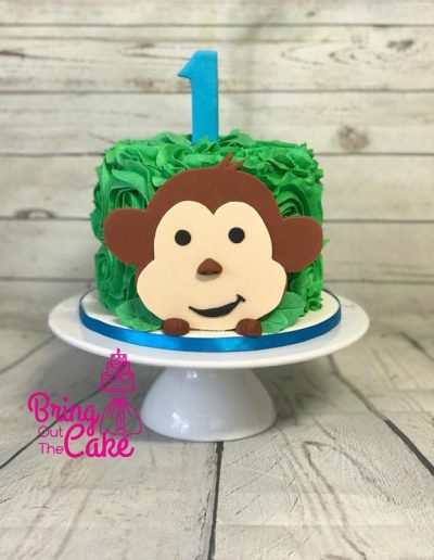 Cheeky-Monkey-Cake-1st-Birthday