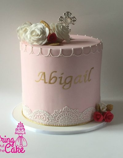 Christening Cake for Abigail