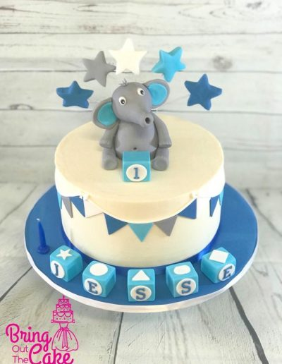 Elephant-Birthday-Cake