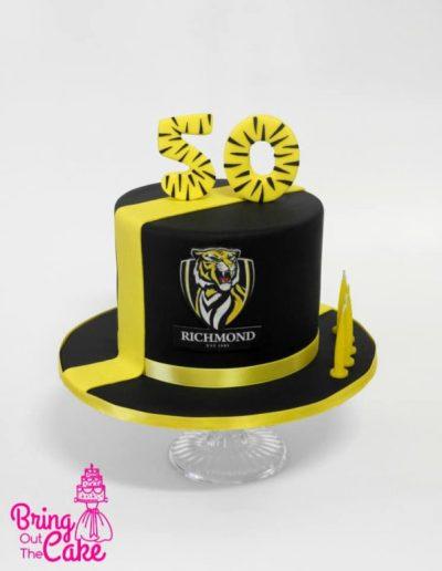 Tigers Cake