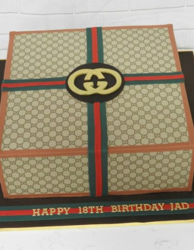 Gucci Box Cake
