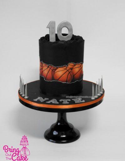 Basketball cake, Fault Line Cake