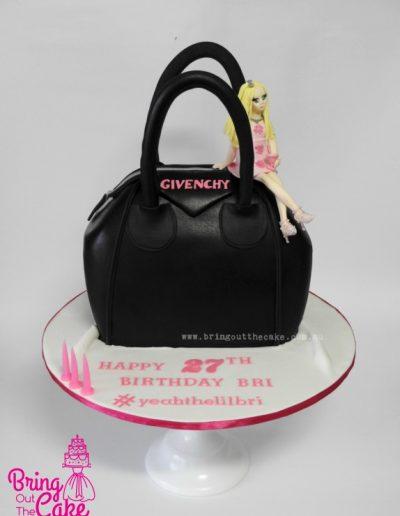 Givenchy Handbag cake - Cake Maker Berwick, Cake Maker Narre Warren, Cake Decorator Berwick