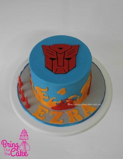 Transformer cake, Optimus Prime Cake, Birthday Cake, Cake Maker Berwick