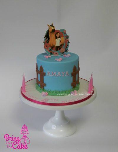 Spirit Riding Free Cake