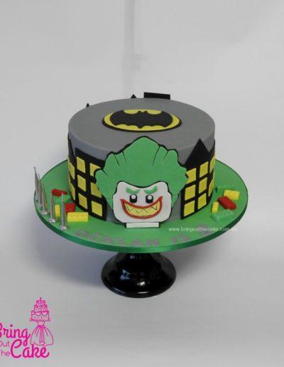 Lego Batman and Joker Cake