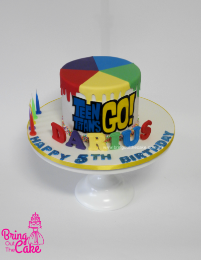 Team Titans Go! Cake